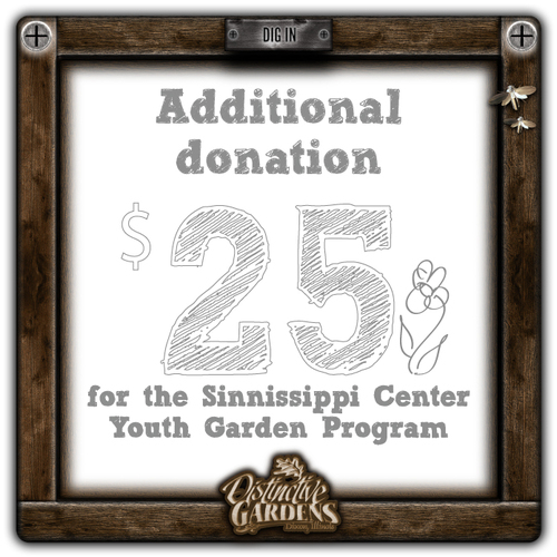 GARDENSTOCK Additional Donation $25